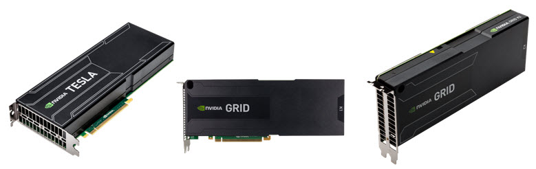 NVIDIA Tesla and GRID GPUs significant performance boost by offloading compute-intensive portions of the application off the main system CPU