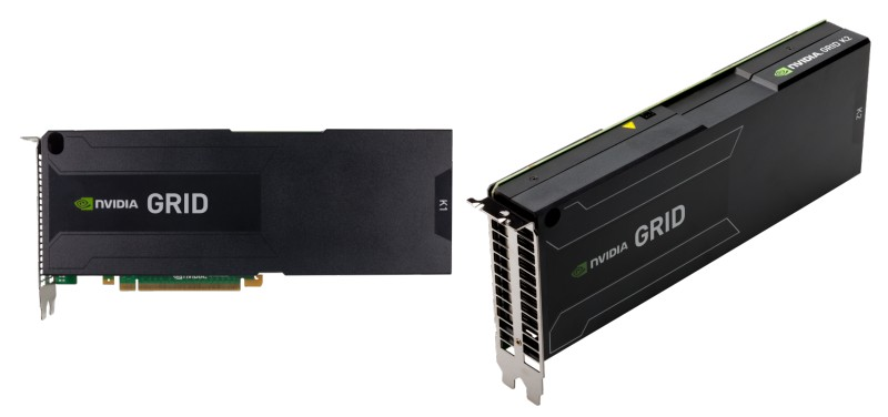 NVIDIA GRID K1 and K2 cards