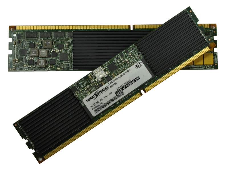 IBM eXFlash memory-channel storage