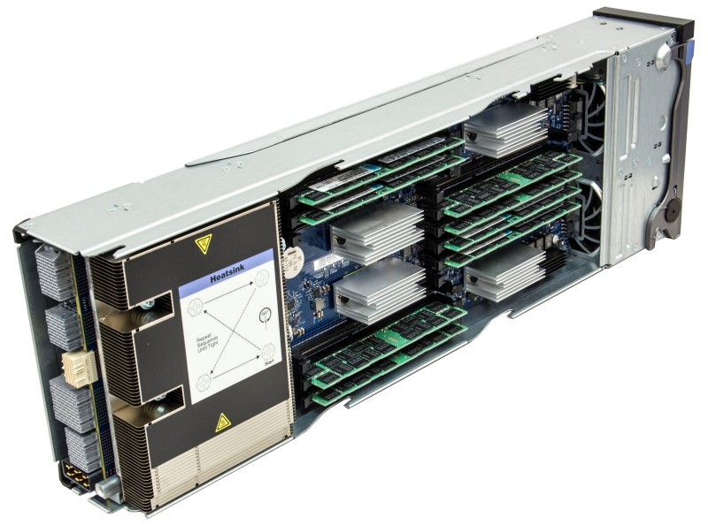 One of the X6 Compute Books each compute book contains one processor and 24 DIMMs (12 DIMMs on each physical side of the book