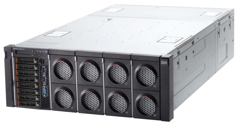 The new IBM System x3850 X6 four-socket server